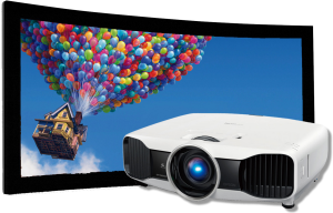 Projector & Screen - Homeplay Electronics