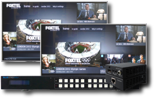 Foxtel Multiroom Video Matrix - Homeplay Electronics
